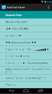 Auto Text Keren for Android 383k
