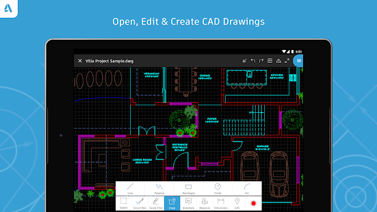 AutoCAD - DWG Viewer & Editor