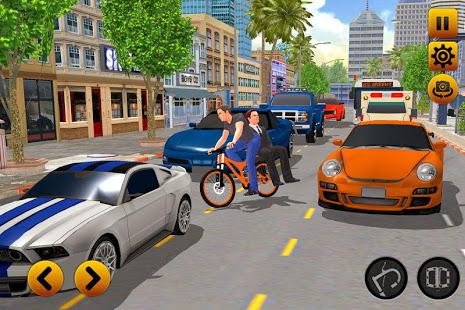 BMX Bicycle Taxi Driver 2019: Cab Sim 1.0