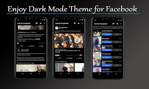 Dark Theme Mode for Facebook V4.00