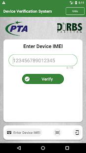 Device Verification System (DVS) - DIRBS Pakistan 3.5