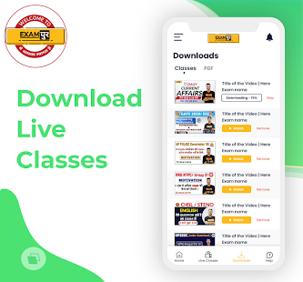 Exampur Official Free Live Classes Mock Tests 4.9
