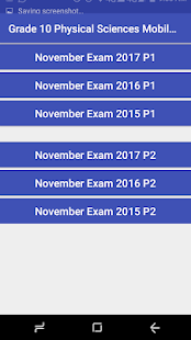 Grade 10 Physical Sciences Mobile Application 1.0
