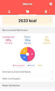 Macros - Calorie Counter & Meal Planner 1.8.6