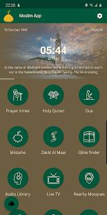 Moslim App - Adan Prayer times, Qibla, Holy Quran 20.04.28