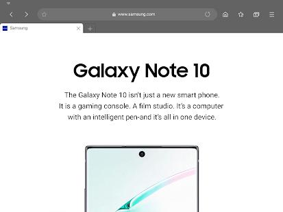 Samsung Internet Browser 11.1.2.2