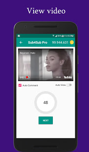 Sub4Sub Pro - View4View - Get Free Views For Video 6.0