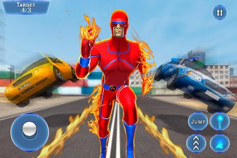 Super Robot Speed Hero: Fighting Game 1.1