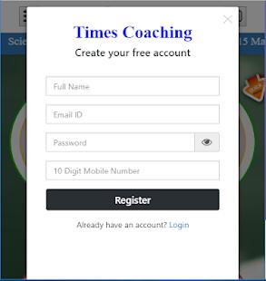 Times Coaching 4.0.3