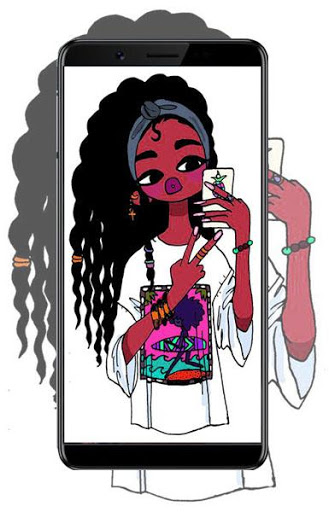 Download Cute Black Girls Wallpapers Melanin 1.0 APK For Android