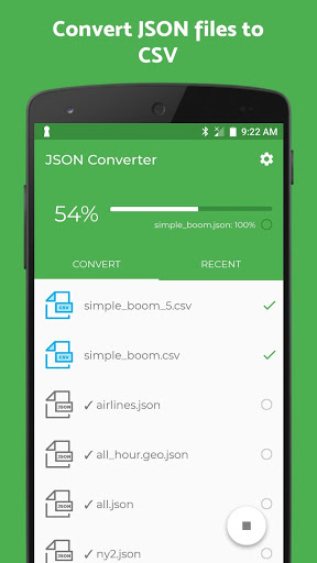 Download JSON Converter   JSON to CSV & JSON to Excel 1.16 APK For Android