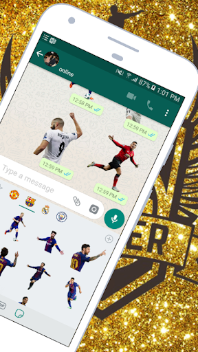 Download ⚽Soccer Stickers for WhatsApp (WAStickerApps) ⚽ 1.29 APK For Android