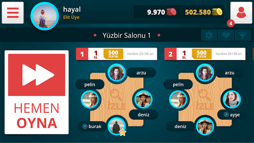 Download 101 Yüzbir Okey 1.1.1 APK For Android