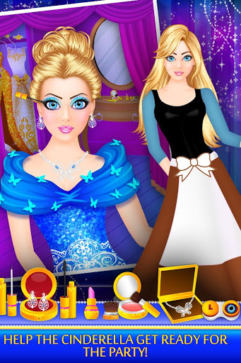 Download Cinderella Beauty Makeover : Princess Salon 1.8 APK For Android