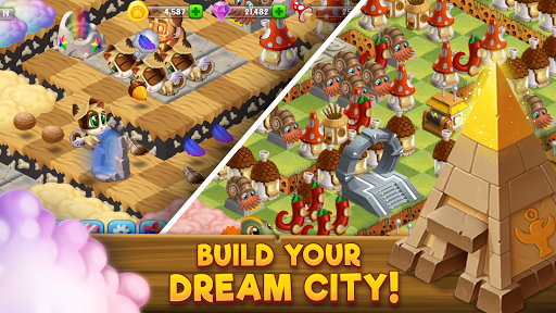 Download Cloud Busters - Build Your Dream City 2.4 APK For Android