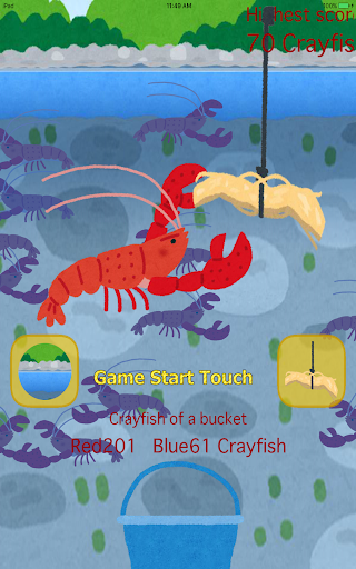 Download Crayfish fishing 1.3.6 APK For Android