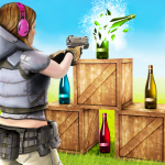 Download Bottle Shoot 3D Gun Games: Fun Shooting Games Free 1.3 APK For Android