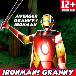 Download Iron Granny House In The Neighbor Man Street Mod 1 APK For Android