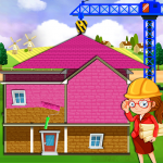 Download Pink House Construction: Home Builder Games 1.2 APK For Android