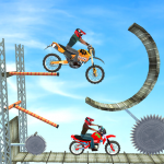 Download Racing Bike 3D Trial Bike Stunts Ramp Bike Jumping 1.1 APK For Android