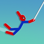 Download Super Hero Hook: Stickman Rope Swing 0.8 APK For Android