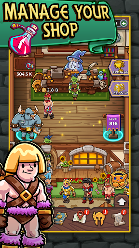 Download Dungeon Shop Tycoon: Craft, Idle, Profit! ⚔️💰🧙 1.550 APK For Android