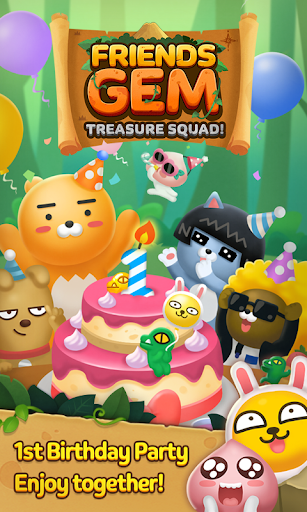 Download Friends Gem Treasure Squad! : Match 3 Free Puzzle 1.28.0 APK For Android