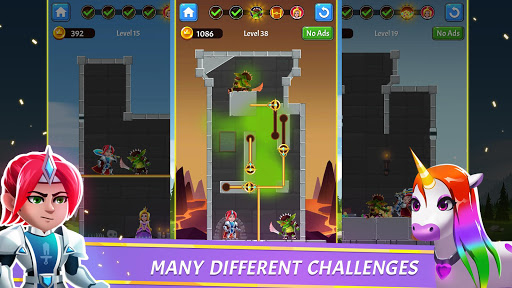 Download Hero Rescue - Pin Puzzle - Pull the Pin 1.1.9 APK For Android