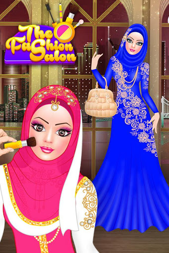 Download Hijab Doll Fashion Salon Dress Up Game 2.6 APK For Android