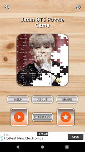 Download Jimin BTS Game Puzzle And Wallpapers HD 1.3 APK For Android