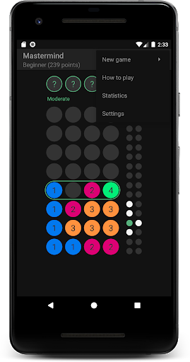 Download Mastermind - the educational code breaking puzzle 1.13.1 APK For Android