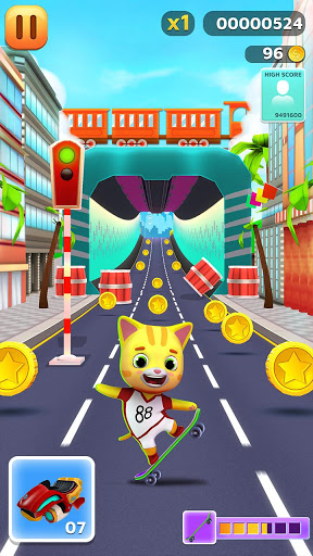 Download My Kitty Runner - Pet Games 1.6 APK For Android