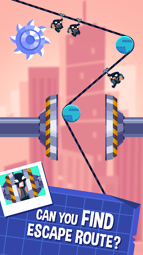 Download Rubber Robbers - Rope Raiders of the Lost Treasure 1.0.18 APK For Android