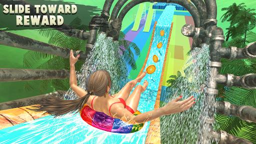 Download Water Parks Extreme Slide Ride : Amusement Park 3D 1.36 APK For Android