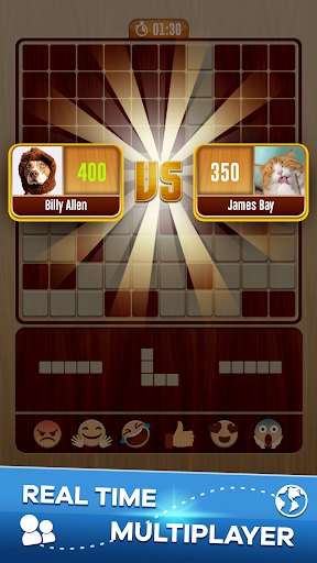 Download Woody Battle Block Puzzle Dual PvP 3.0.8 APK For Android