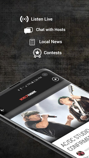 Download 105.7 The Hawk - Classic Rock for the Jersey Shore 2.3.0 APK For Android