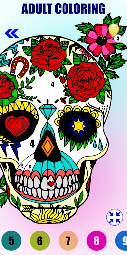 Download Adult Color By Number-Paint By Number Book Free 1.17 APK For Android