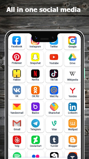 Download All in one social media and social network app 9 APK For Android