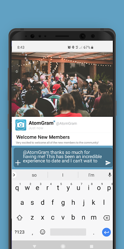 Download AtomGram 1.45.7 APK For Android