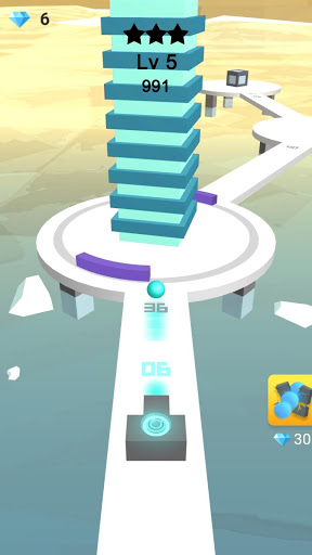 Download Ball Blast - 3D Tower Stack Crash 1.0-fireball APK For Android