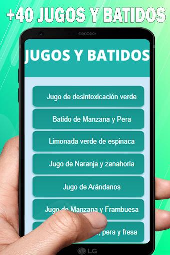 Download Batidos y Recetas Saludables para perder peso 1.18 APK For Android