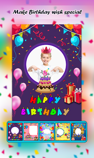 Download Birthday Photo Frames And Birthday Greetings 1.3 APK For Android