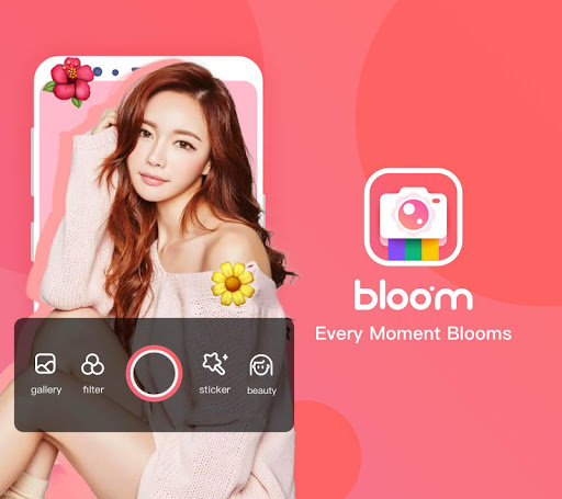 Download Bloom Camera, Selfie, Beauty Filter, Funny Sticker 0.4.1 APK For Android