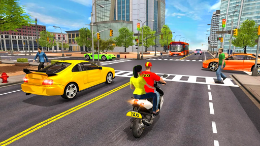 Download City Taxi Bike Driving 3D 1.0 APK For Android