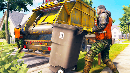 Download City Trash Truck Simulator: Dump Truck Games 1.4 APK For Android
