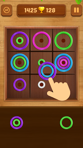 Download Color Rings - Colorful Puzzle Game 3.2 APK For Android