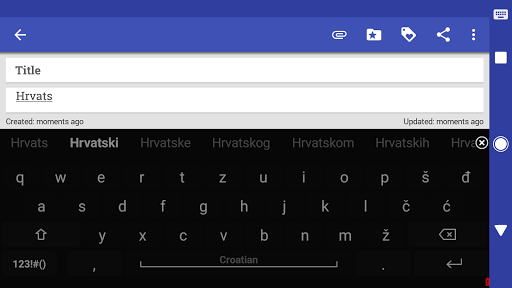 Download Croatian for AnySoftKeyboard 4.0.1396 APK For Android