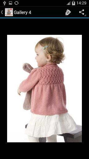Download Crochet Pattern Baby Cardigan 1.8 APK For Android