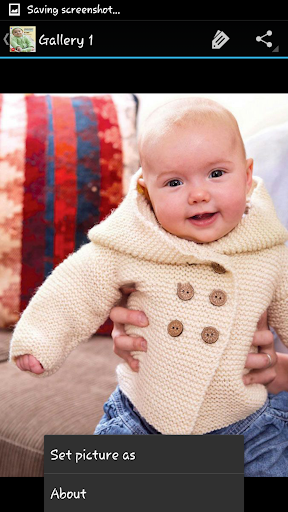 Download Crochet Pattern Baby Jacket 1.7 APK For Android
