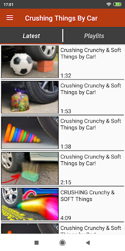 Download Crushing Things By Car Videos 1.0 APK For Android